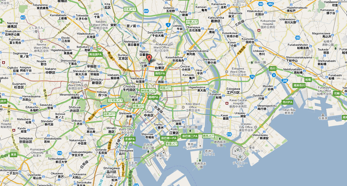 Show Me A Map Of Japan